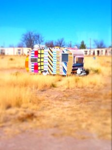 Airstream Trailer, Marfa TX