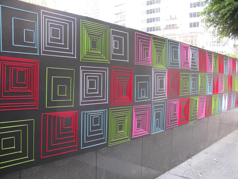 The Standard Hotel Los Angeles Textile Art Installation